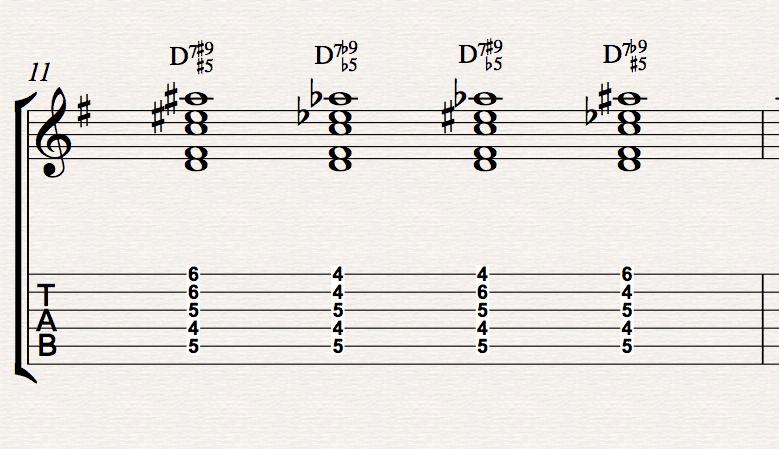 Piano u00bb Piano Chords D9 - Music Sheets, Tablature, Chords and Lyrics