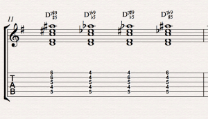 How to fiddle with chords and play altered dominants without tears