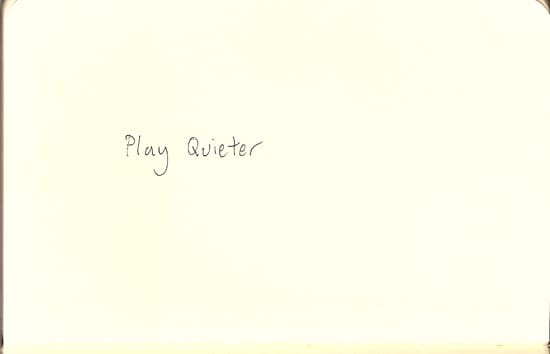 Play Quieter